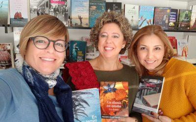 Firma en la Feria del Libro en la Plaza Mayor de Madrid